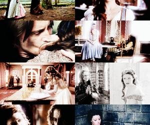 belle, couple, and hug image