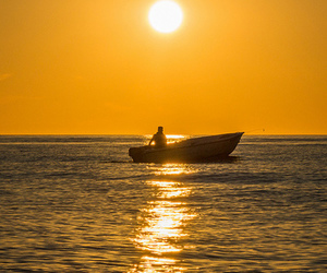 boat, bright, and colourful image