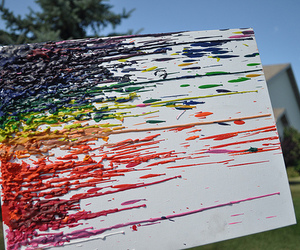 colorful, crayon art, and cool image