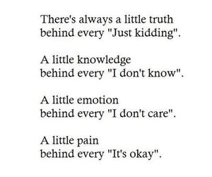 quotes, pain, and true image