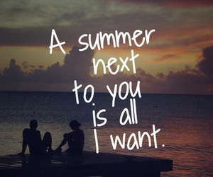 summer, you, and want image