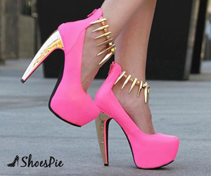 heels, pretty, and shoes image
