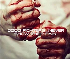 fighter, pain, and never image