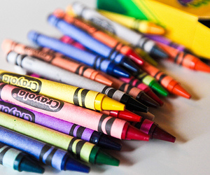 colors and crayons image
