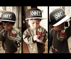 obey, swag, and baby image