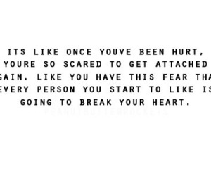 hurt, quote, and heart image