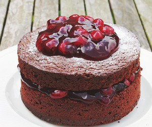 delicious, cake, and food image
