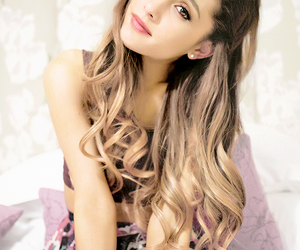 girly, ariana, and gorgeous image
