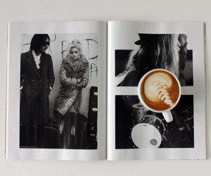 coffee, magazine, and photography image