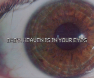 heaven, eyes, and grunge image