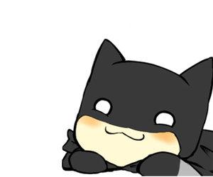 batman, kawaii, and chibi image