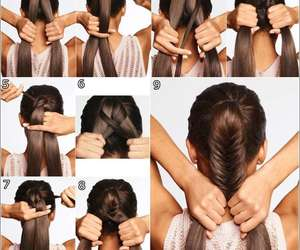 braid, classy, and fishtail image