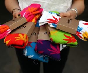 huf, socks, and colors image