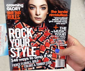 lorde and teenvouge image