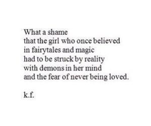 quotes, demon, and sad image