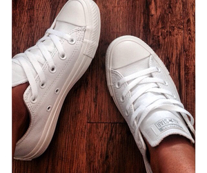 converses, low top, and leather image