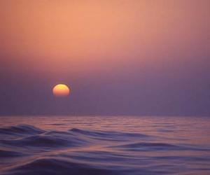 nature, sea, and sun image