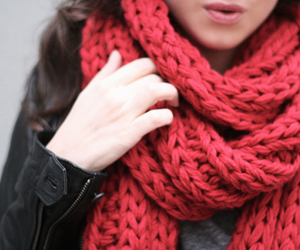 scarf, fashion, and girl image