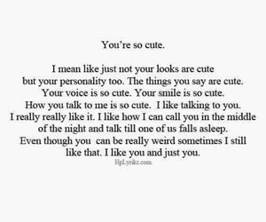 adorable, quotes, and smile image