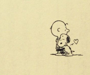 snoopy, charlie brown, and dog image