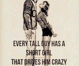 love, crazy, and tall image
