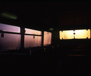 bus, grunge, and pale image