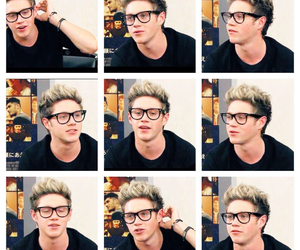 glasses, Hot, and niall horan image