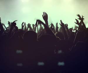audience, concert, and cool image