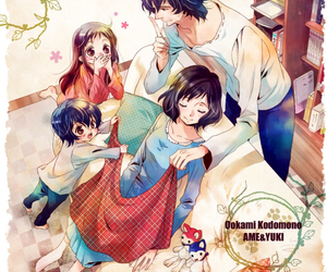 anime, love, and family image