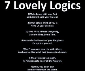 quotes, logic, and life image