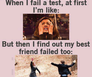 funny, test, and friends image