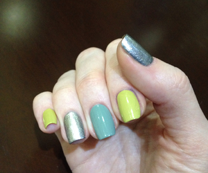 manicure, nails, and nail color image