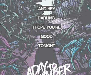 Lyrics and a day to remember image