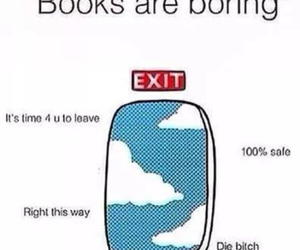 books and boring image