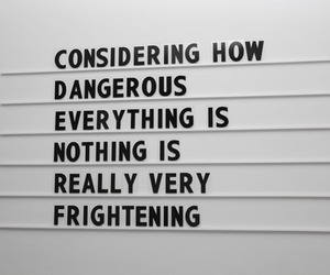 quotes, life, and dangerous image