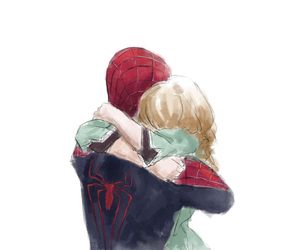 spiderman, gwen stacy, and peter parker image