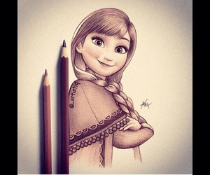 anna, drawing, and op image