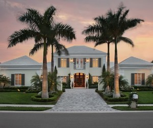 architecture, florida, and luxury image