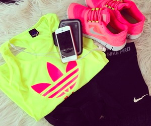 clothes, run, and yellow image