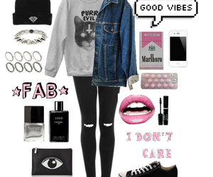 grunge, outfit, and fashion image