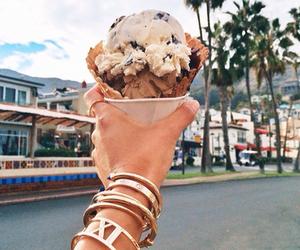 ice cream, summer, and food image