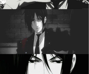 anime, black butler, and painting image