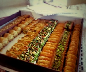baklava, Cookies, and delicious image