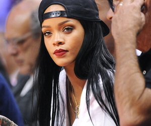 rihanna, beautiful, and hair image