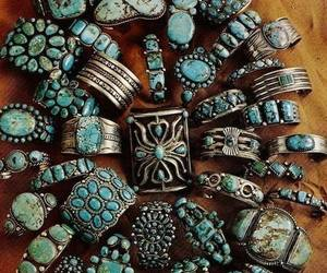 rings, jewelry, and turquoise image