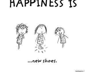 happiness, laugh, and shoes image