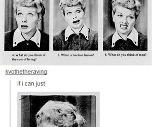 funny, boys, and Lucille Ball image