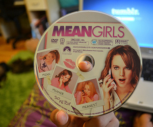 mean girls, movie, and dvd image