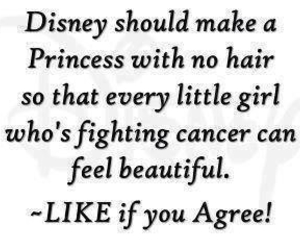cancer, disney, and quote image