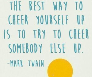 quotes, mark twain, and happy image